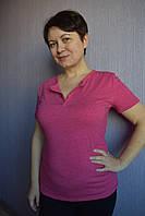 Женская футболка фуксия