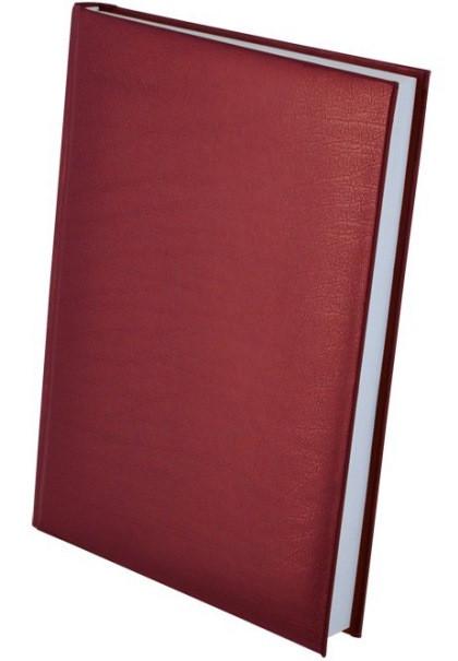 Ежедневник недатированный А5 EXPERT, бордовый