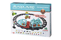 Конструктор Magplayer Поезд 77 элементов (MPH2-77)