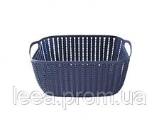Корзинка для полотенец Bathlux Fuegos artificiales 70272 плетение 2 л SKL11-132656