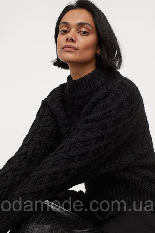 Женский свитер черный H&M
