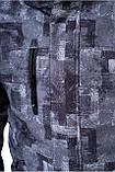 Гонолыжная куртка детская Freever серая, фото 6