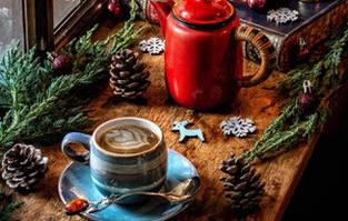 Необычные рецепты приготовления кофе на Рождество и Новый год