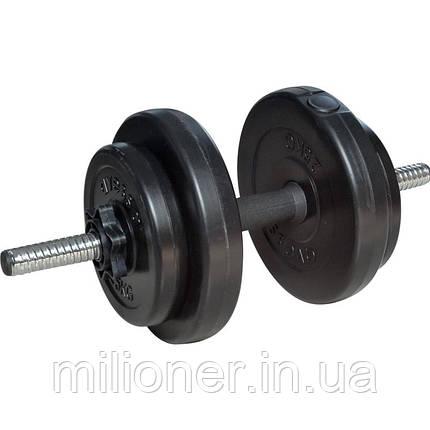 Гантели Atleto 11723 2 PCS * 20kg, фото 2