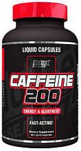 Caffeine 200 liquid caps, 60 капсул, IGtenera Swiss