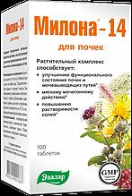 Милона-14, для почек и мочевыводящих путей, 100 таблеток, IGtenera Swiss