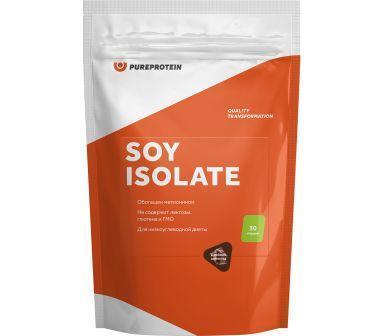Соевый протеин, вкус «Печенье», 900 гр, Pure Protein