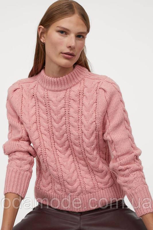 Свитер женский розовый H&M