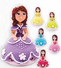 """Набір """"Принцеса"""" (Фіолетова сукня)"""