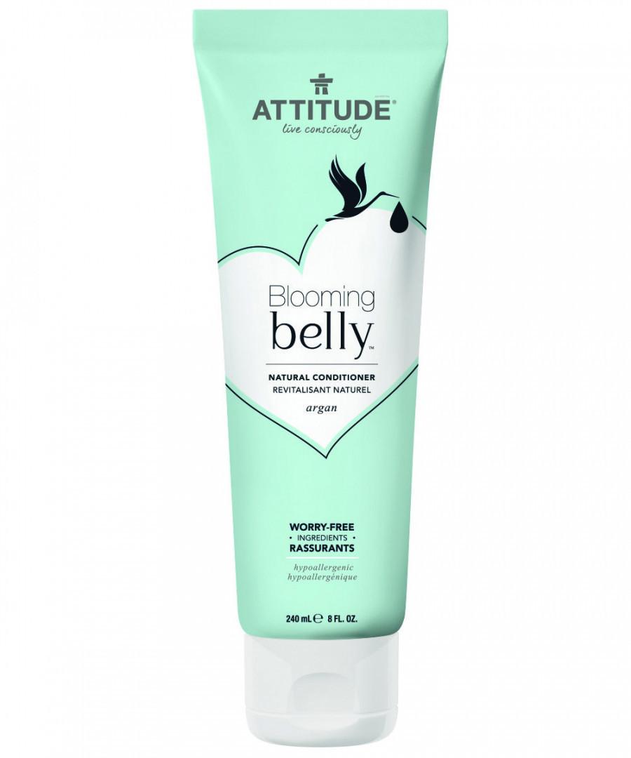 Кондиционер для волос с аргановым маслом, Blooming Belly, 240 мл, ATTITUDE