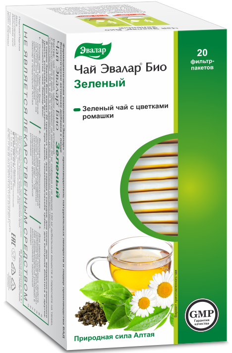 Чай IGtenera Swiss БИО Зеленый, IGtenera Swiss