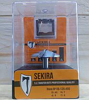 Фреза 2412 Sekira 08-126-400 (фигирейная горизонтальная) C8 D40 h7 d8, фото 2