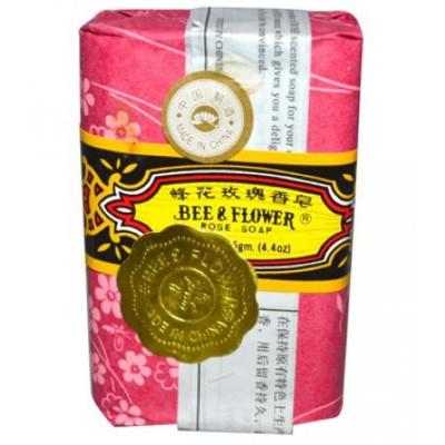 Сандаловое мыло Bee & Flower с розой 125 г