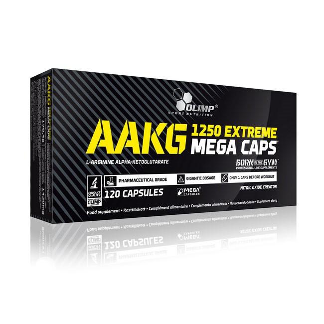 AAKG 1250 Extreme Mega Caps / Экстрим Мега Капс 120 капсул