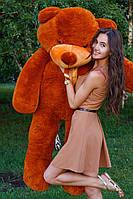 Большой медведь тедди 200 см коричневый