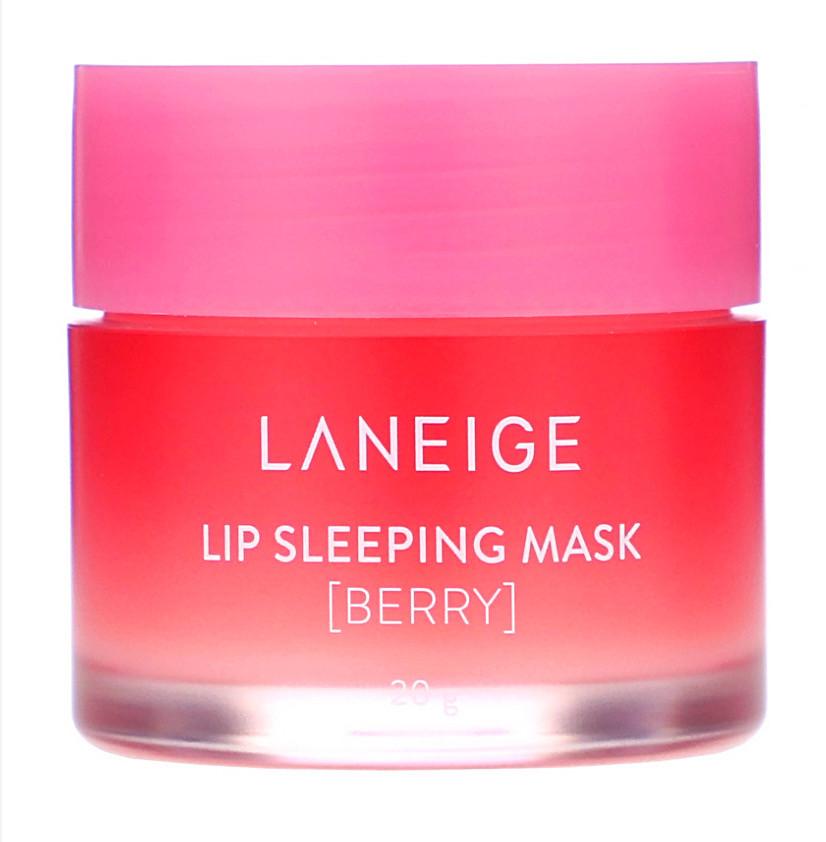 Ночная маска для губ, ягодная, 20 г. LANEIGE