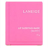Ночная маска для губ, ягодная, 20 г. LANEIGE, фото 3