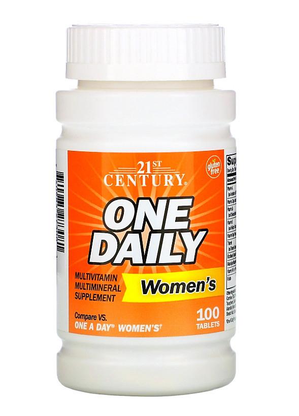 Витамины для женщин One Daily 100 таблеток