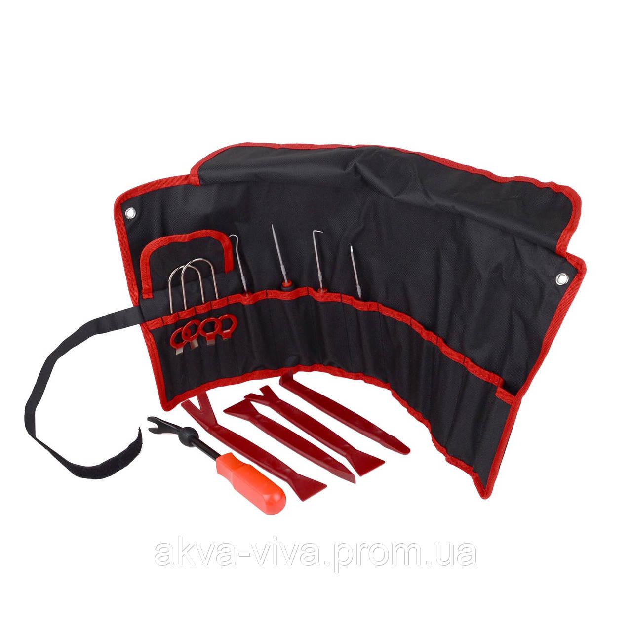 Профессиональный набор инструментов для снятия обшивки (облицовки) авто 15шт (СО-15-2ч)