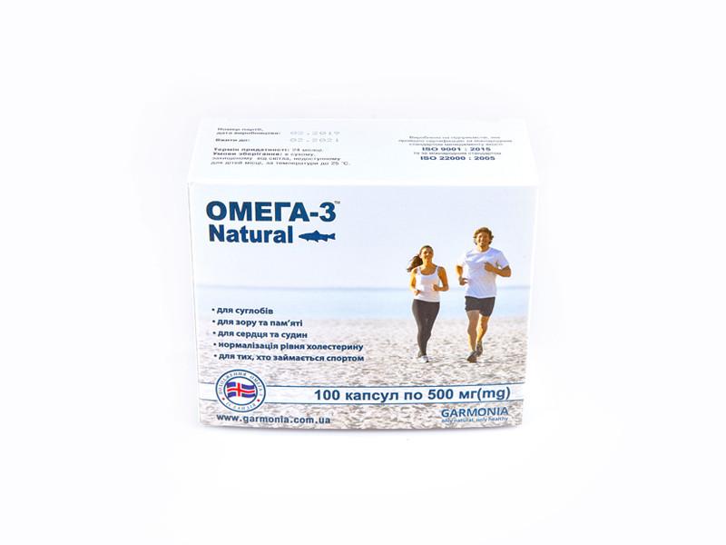 Омега-3 Natural 100 капсул по 500 мг