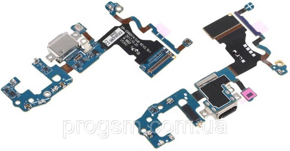 Разъем зарядки Samsung Galaxy S9 SM-G960 (со шлейфом) Original