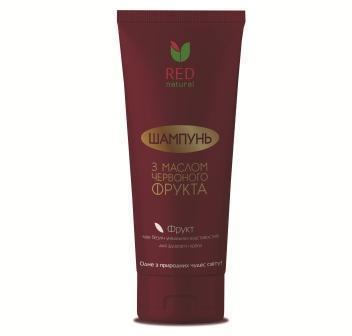 """Шампунь д/волос """"Red Natural"""" с маслом красного фрукта 200мл"""