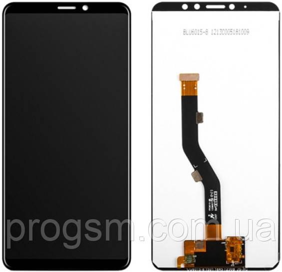 Дисплей Meizu Note 8 (M822) complete Black (REF) Original