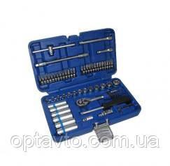 Набор инструментов 56 предметов. Качественный, профессиональный ручной инструмент King Roy в кейсе. 056-MDA