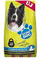 Корм для Собак Евро Дог Euro Dog  Курица10 кг