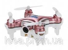 Квадрокоптер нано Wi-Fi Cheerson CX-10W с камерой розовый SKL17-139775