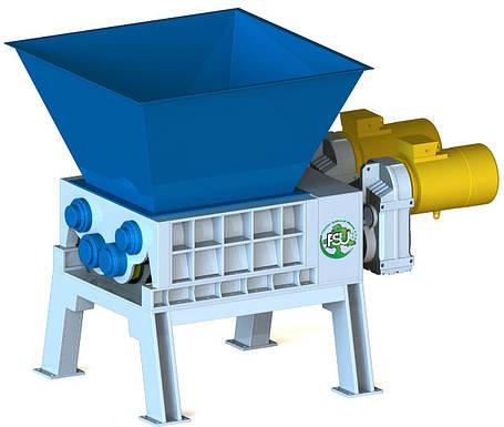 Измельчитель (шредер) для уничтожения пластиковых изделий типа FSU, фото 2