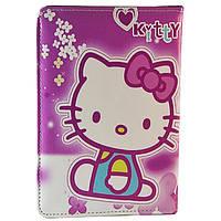 Чехол-книжка универсальный для планшетов Hello Kitty 10 дюймов