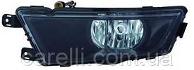 Противотуманная фара Н8 правая черная для Skoda Rapid 2012-19