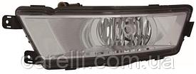 Противотуманная фара Н8 левая хром для Skoda Rapid 2012-19