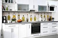 Скинали на кухню Zatarga «Музей оливы» 600х3000 мм виниловая 3Д наклейка кухонный фартук самоклеящаяся, фото 1