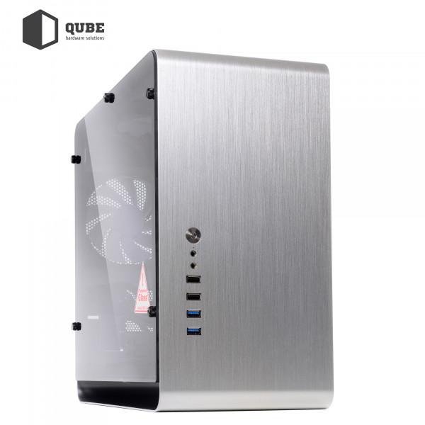 Корпус QUBE Eagle Silver (QBX3M_WSNU3)