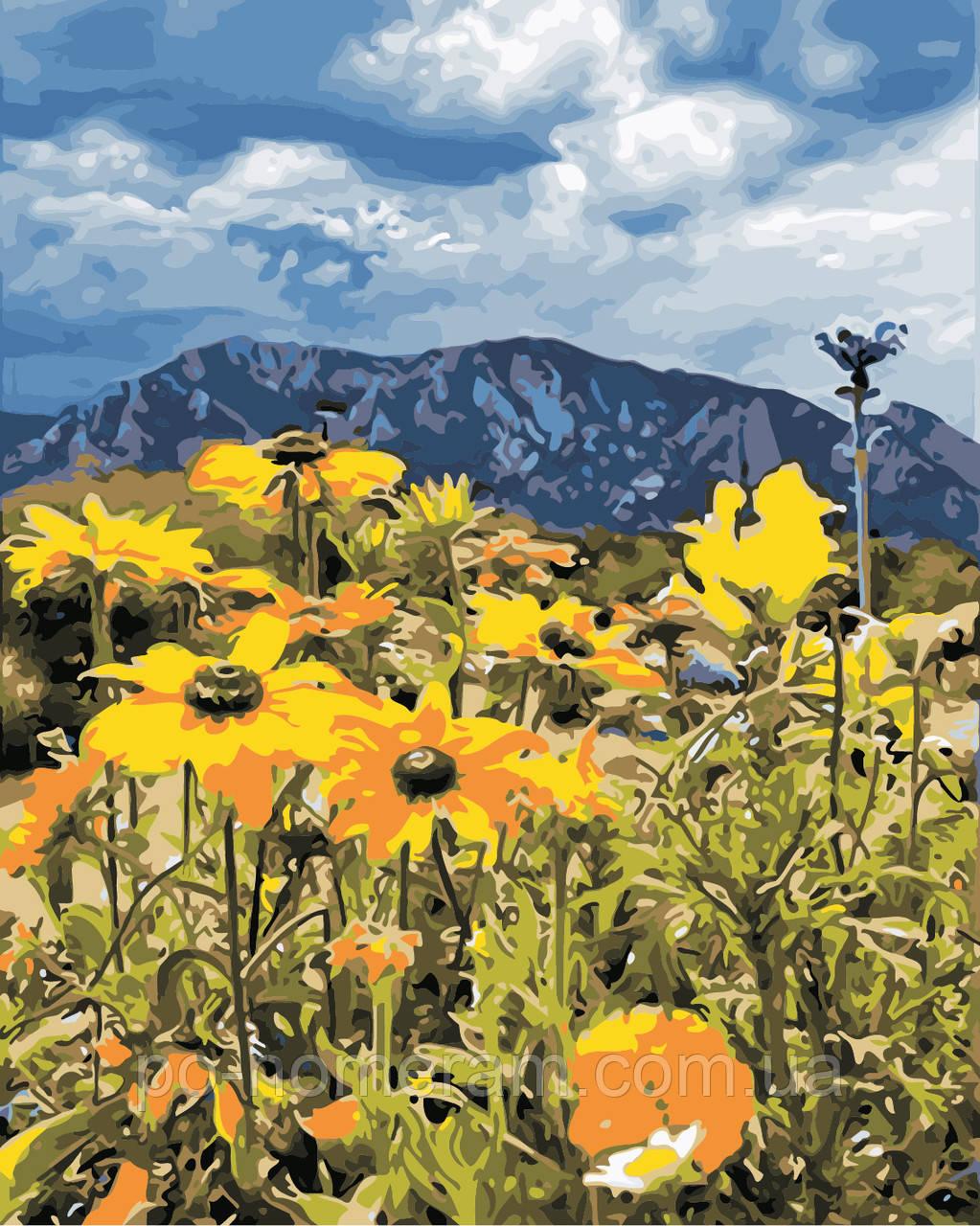 Картина по номерам ArtStory Весна в горах (AS0865) 40 х 50 см