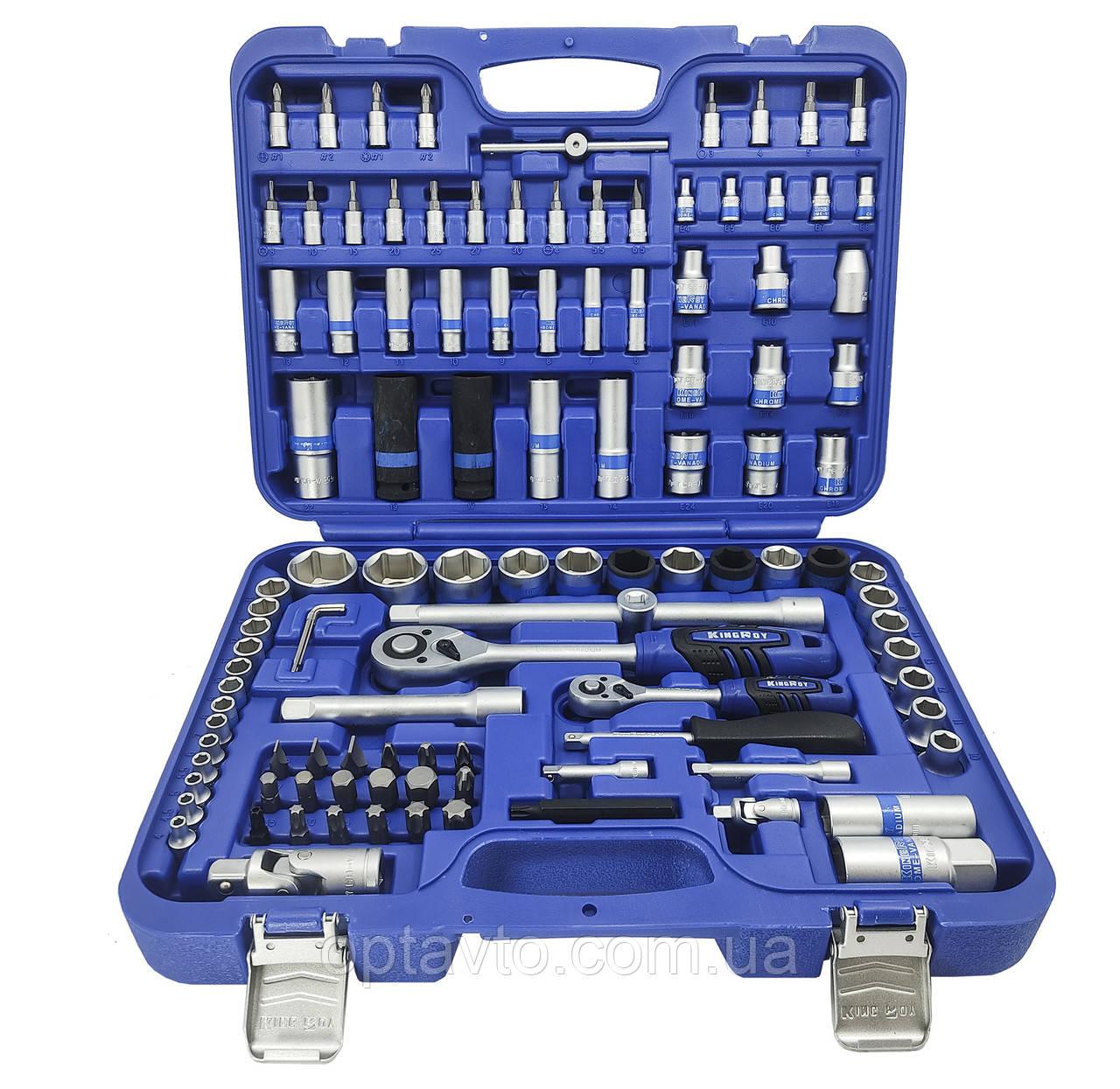 Набор инструментов 110 предметов 110-MDA-TB-6 King Roy. Супер качество!