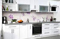 Скинали на кухню Zatarga «Признание в любви» 650х2500 мм виниловая 3Д наклейка кухонный фартук самоклеящаяся, фото 1