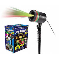 Уличный лазерный проектор фонарь для украшения дома Smart Engine Star Shower Motion Laser
