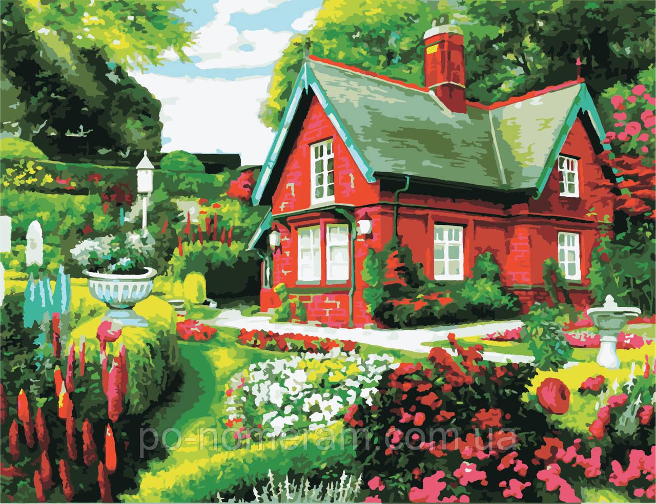 Картина по номерам ArtStory Сказочный дом (AS0973) 50 х 65 см