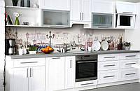 Скинали на кухню Zatarga «Венецианская мечта» 650х2500 мм виниловая 3Д наклейка кухонный фартук самоклеящаяся, фото 1