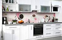 Скинали на кухню Zatarga «Радость нового дня» 650х2500 мм виниловая 3Д наклейка кухонный фартук самоклеящаяся, фото 1