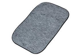 Автомобильный коврик для защиты от пыли и грязи (50см*30см). Комплект 4 шт.