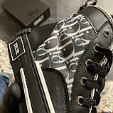 Женские кроссовки Dior B23 High-Top Sneakers Black, женские кроссовки диор б23 хайтоп, фото 3
