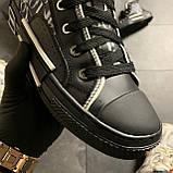 Женские кроссовки Dior B23 High-Top Sneakers Black, женские кроссовки диор б23 хайтоп, фото 4