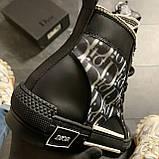 Женские кроссовки Dior B23 High-Top Sneakers Black, женские кроссовки диор б23 хайтоп, фото 6