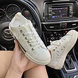 Женские кроссовки Dior B23 Low-Top Sneakers White, женские кроссовки диор б23 лов топ, фото 2