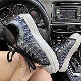 Женские кроссовки Dior B23 Low-Top Sneakers Black, женские кроссовки диор б23 лов топ, фото 3