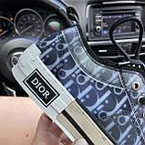 Женские кроссовки Dior B23 Low-Top Sneakers Black, женские кроссовки диор б23 лов топ, фото 5